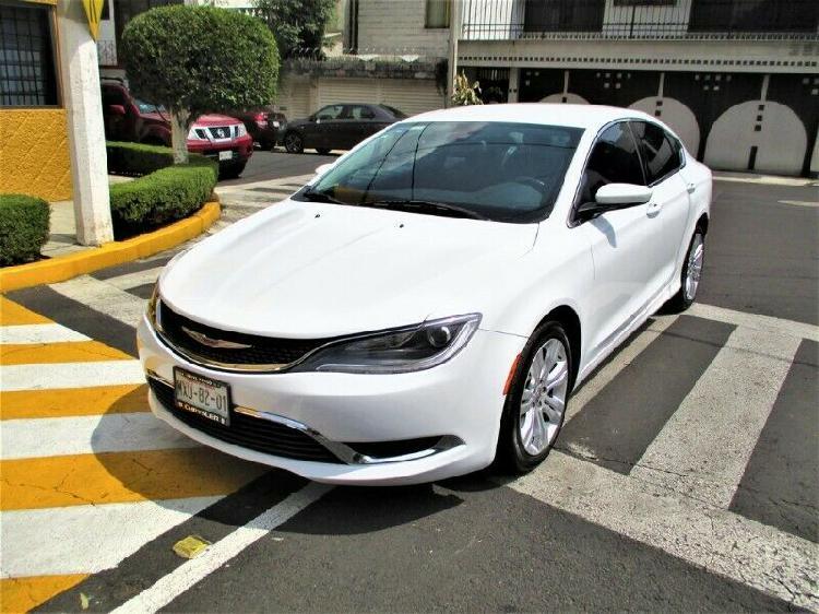 Chrysler 200 limited 2015 línea nueva