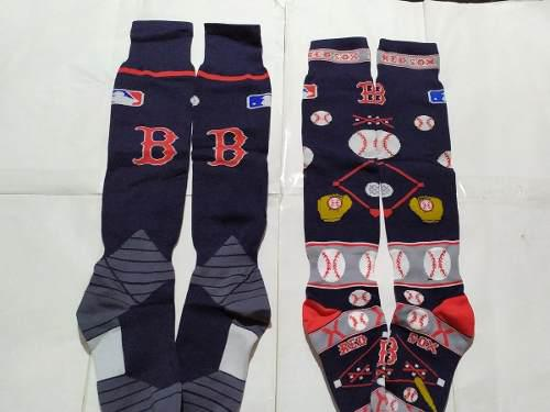 Calcetas / medias de beisbol o softbol boston red sox.