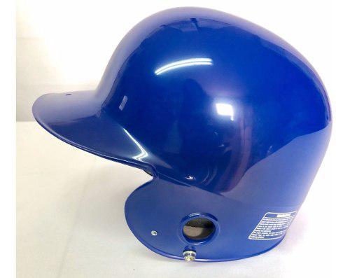 Casco para bateo prof de 2 orejeras azul rey beisbol,softbol
