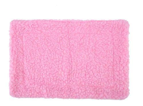 Erizo guinea cerdo cama estera cojín rectangular felpa