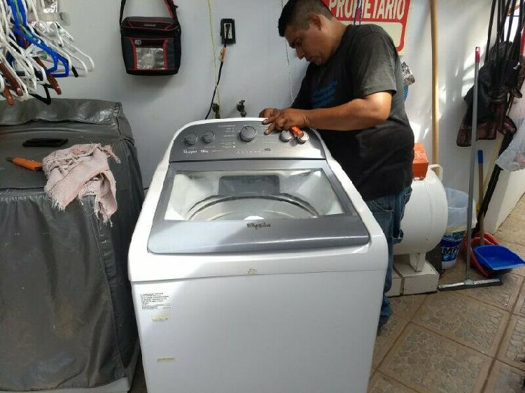 Lavadoras automáticas y doble tova. boca del río y