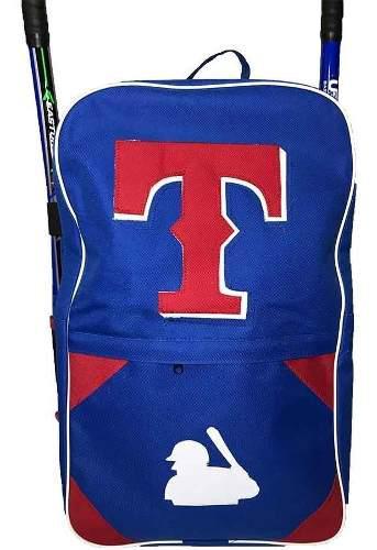 Mochila batera back juvenil texas azul beisbol softbol