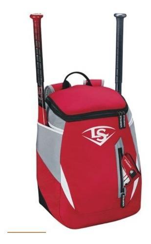 Mochila batera marca louisville para beisbol y softbol. rosa