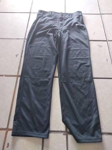 Pantalón deportivo béisbol/softball nike mediano gris