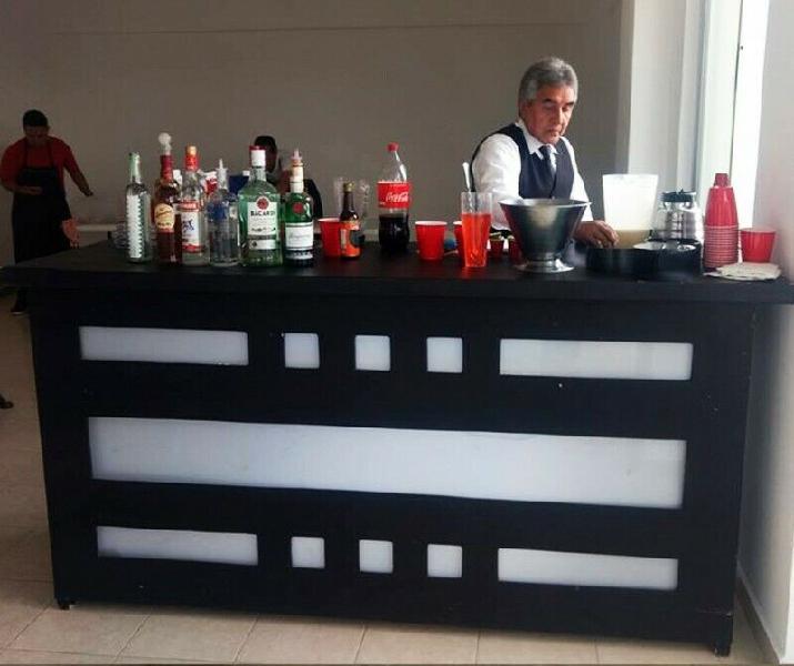 Servicio de barra de bebidas