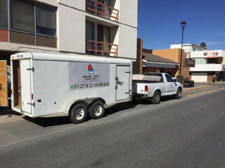 Servicio profesional fletes y mudanzas chihuahua muda -dos