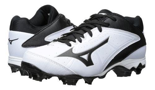 Spikes beisbol softbol mizuno 9 finch blanco tqt # 24.5 mx