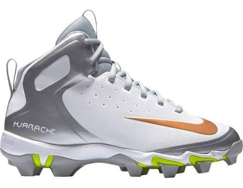 Spikes beisbol softbol nike huarache blanco gris tqt# 29.5