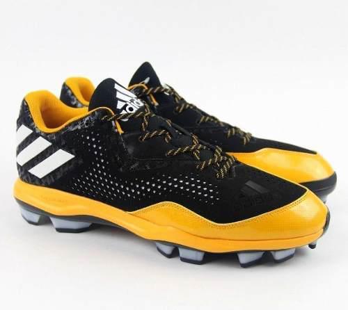 Spikes beisbol softbol power negro amarillo tqt # 27 mx
