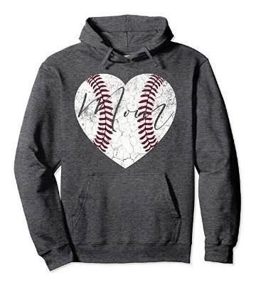 Sudadera mujer béisbol y softball, unisex