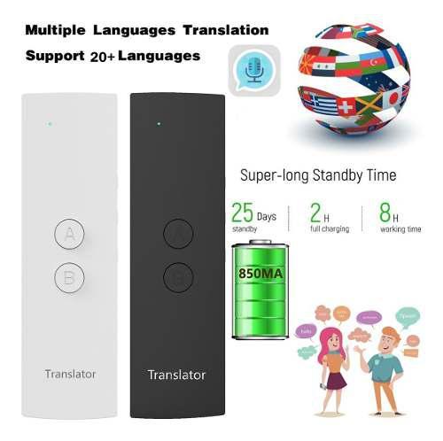 T6 traductor de la voz real tiempo instantáneo multi -