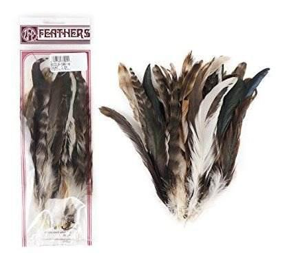 Zucker feather tm - colas de gallo coque-chinchilla natural