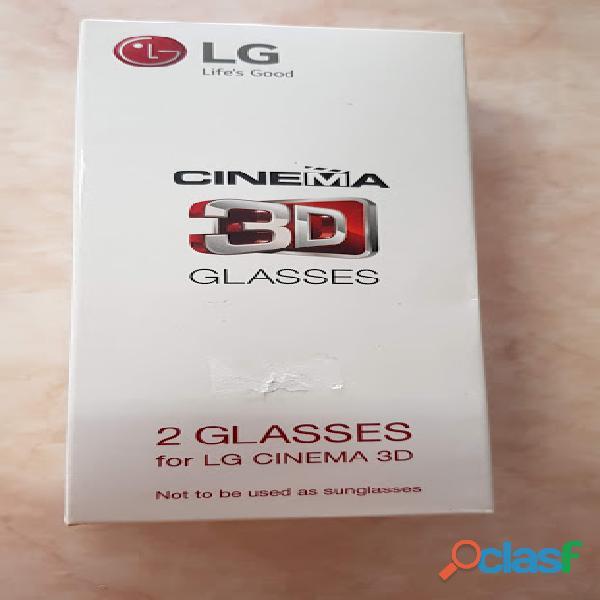 Lentes 3d lg ag f310 pasivos originales 2 lentes