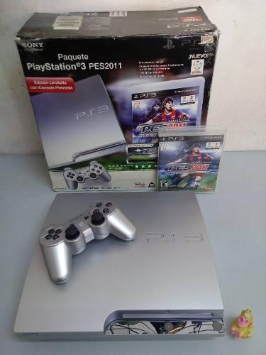 Consola play station 3 ps3 silver ed. 320 gb + envío gratis