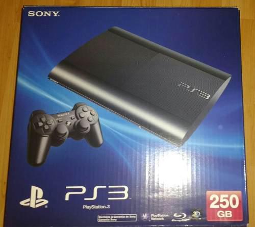 Consola ps3 250gb, 5 juegos