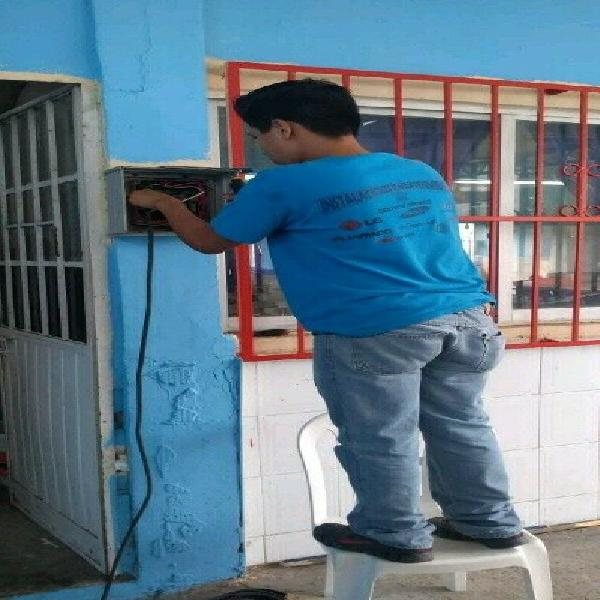 Electricista 24hr reparaciones urgentes