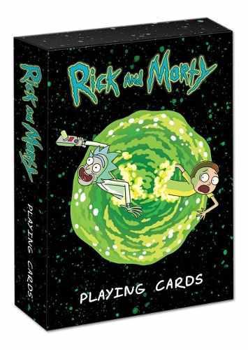 Juego de cartas naipes poker rick and morty [playing cards]