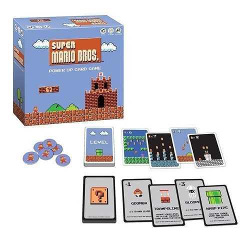 Juego de cartas super mario bros power up card game oficial