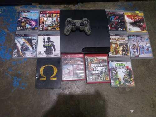 Play station 3 con 12 juegos incluidos