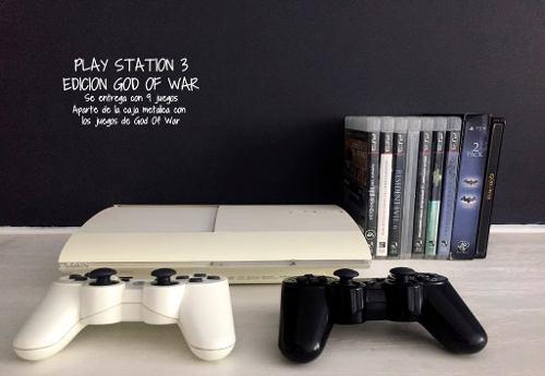 Play station 3 edición god of war