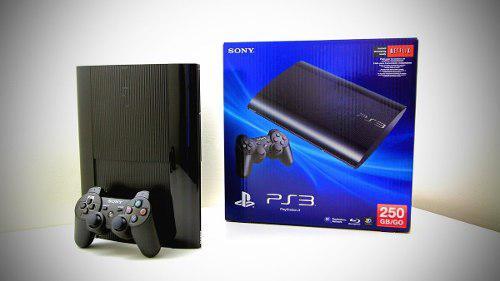 Playstation 3 250gb con 12 juegos + 3 películas br