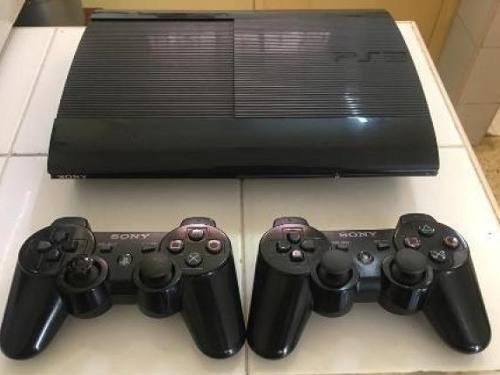 Playstation ps3 super slim 2 juegos