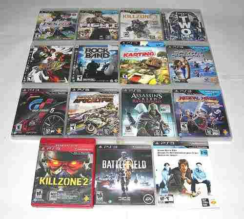 Ps3 juegos play station 3 combo seminuevo 4 juegos