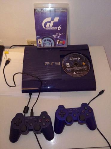 Ps3 playstation 3 edicion especial gran turismo 6 250 gbs
