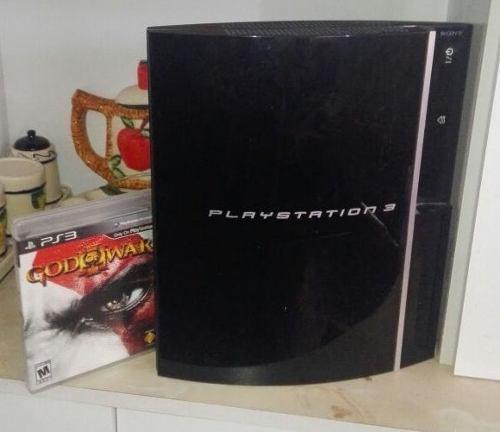 Ps3 playstation 3 fat negro piano 120 gb