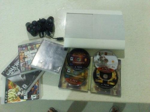 Ps3+control+11 juegos+envio gratis