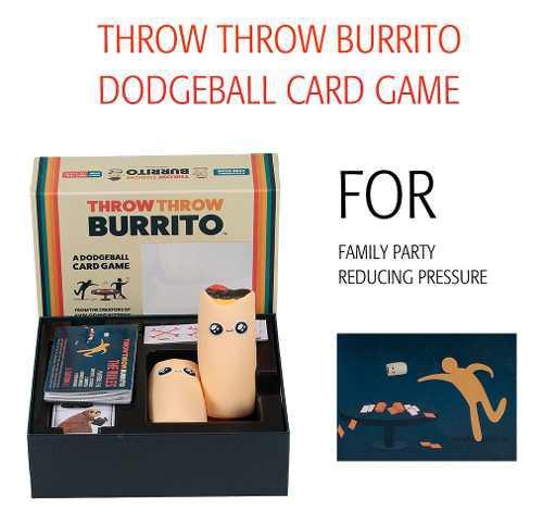 Throw throw burrito juego de cartas dodgeball para fiesta