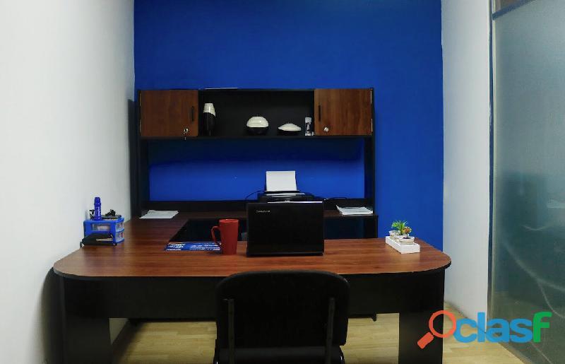 Renta tu oficina con el mejor ambiente de trabajo