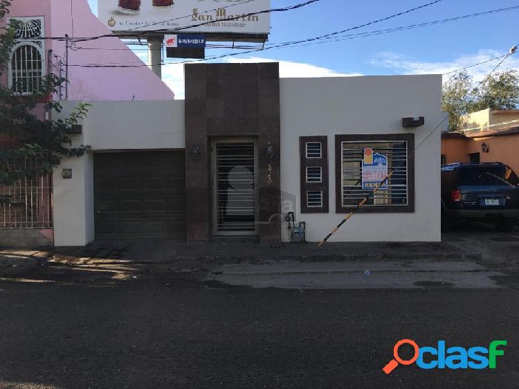 Casa en renta en cd. juarez, unidad habitacional emiliano zapata