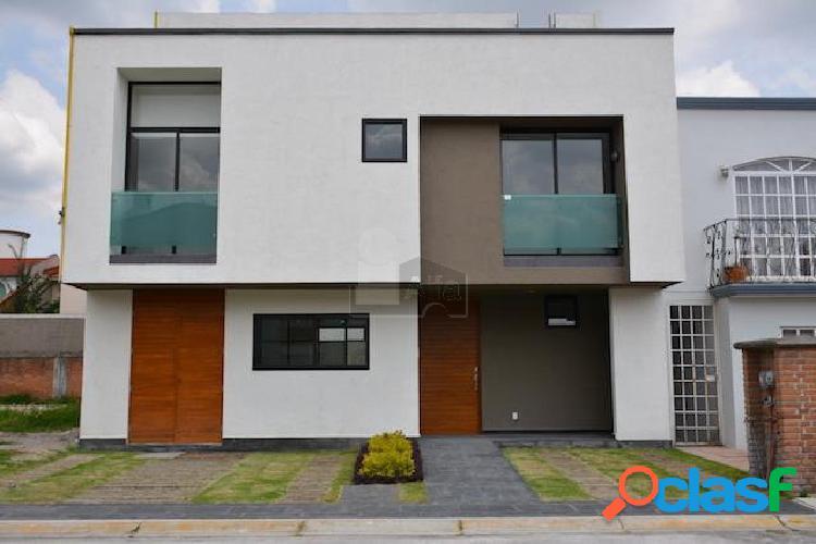 Casa nueva en venta en ex. hda. san jose, toluca