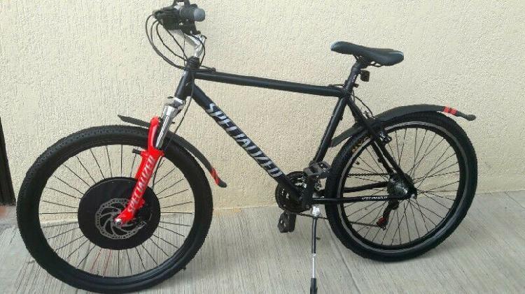 Bicicleta electrica specialized, r-26, pila incluida