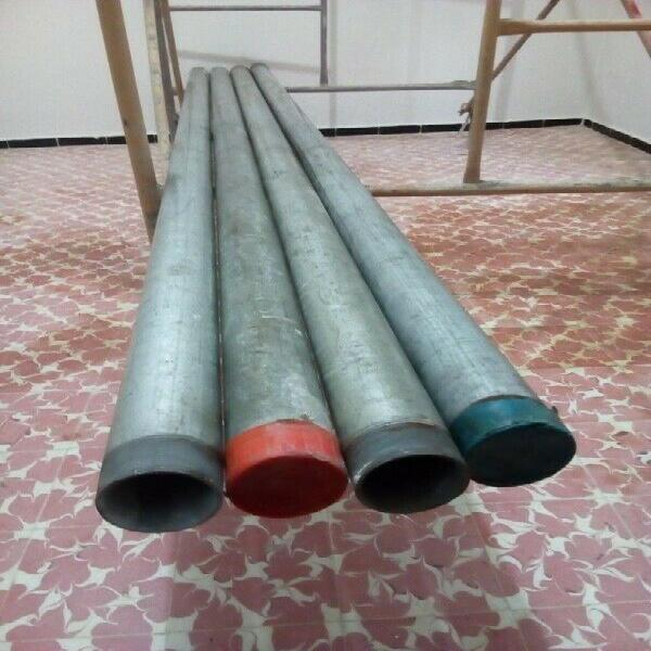 Lote de 11 tubos conduit galvanizados