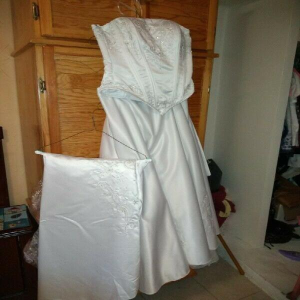 Vestido novia segunda mano