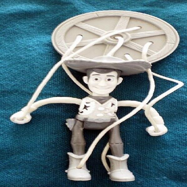 Woody de toy story 2 en blanco y negro