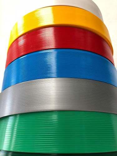 Cinta plastica rompe vientos malla ciclónica 55mm 18m2