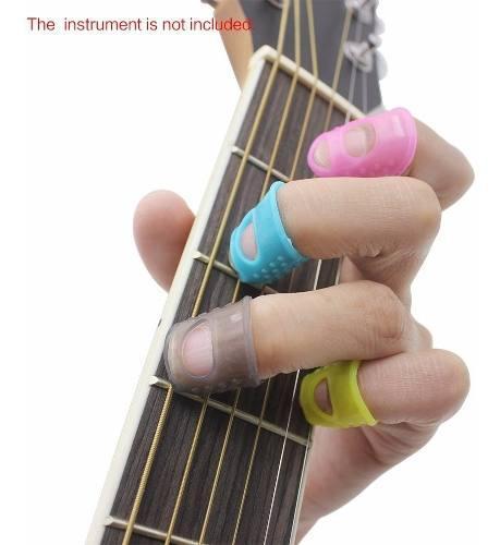 Dedales para tocar guitarra bajo ukulele plumilla