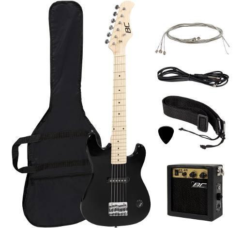 Guitarra eléctrica (bc) para niño (76 cm) con amplificador