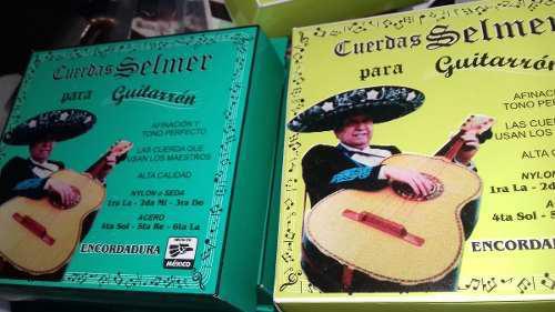 Kit 8 juegos cuerdas guitarron selmer