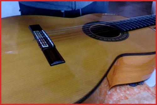 Mica para guitarra pickguard estática transparente