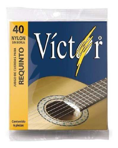Set cuerdas victor p/ requinto nylon vcre-40 envio gratis