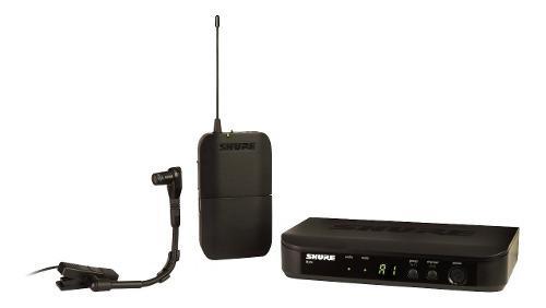 Shure blx14/b98 micrófono inalámbrico instrumentos de