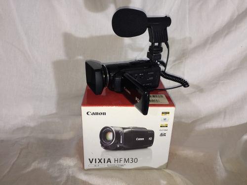Videocámara full hd vixia canon micrófono externo