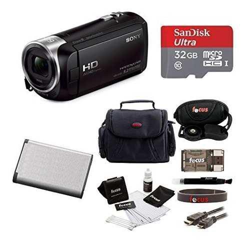Videocámara sony handycam hdrcx405 1080p full hd 60p sd