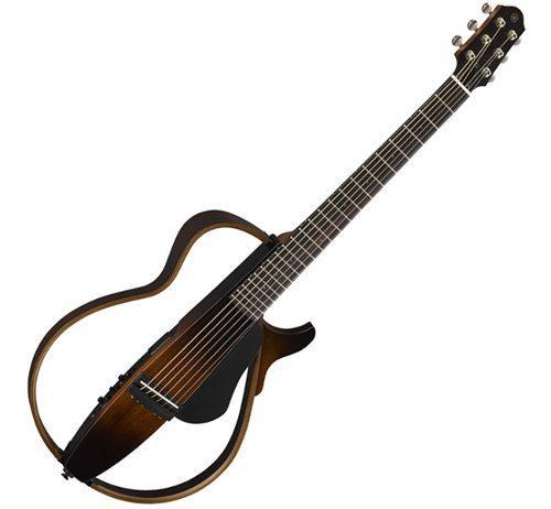 Yamaha slg200s guitarra electro-acústica silenciosa c.