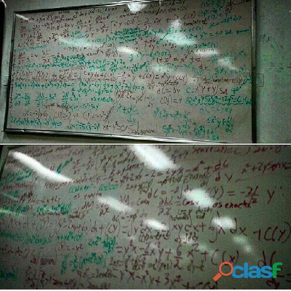 Clases de matemáticas a domicilio y particulares