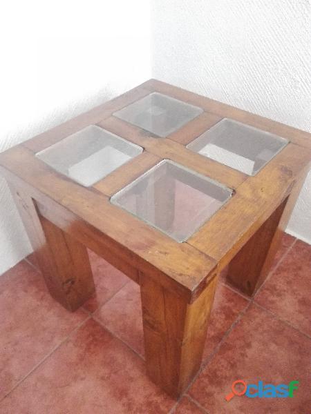 Mesa esquiner rústicas para sala u oficina